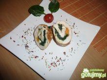 Roladki ze szpinakiem i jajkiem 2
