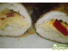 Rolady drobiowe  z serem i papryką