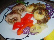 Rolady wieprzowe z grzybami