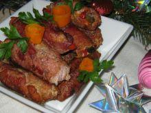 Rolady z papryką i ogórkiem