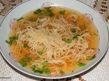 Rosół wołowy wg Buni :
