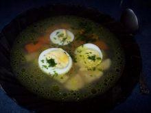 Rosół z jajkiem