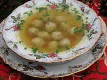 Rosół z karpia z pulpecikami