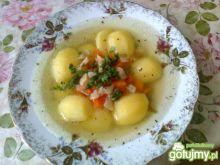 Rosół z ziemniaczkami