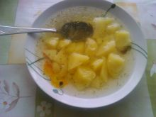 Rosół z ziemniakami