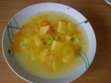 Rosół z ziemniakami i ryżem