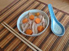 Rosołek z makaronem ryżowym