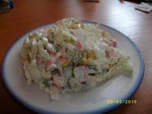 Rosyjska sałatka krabowa