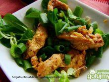 Roszponka z kurczakiem curry