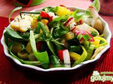 Roszponka z warzywami