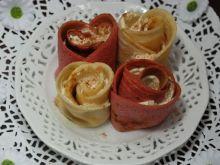 Róże naleśnikowe z mascarpone