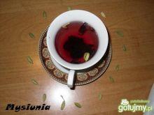 Rozgrzewajaca herbata z hibiskusem