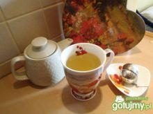 Rozgrzewająca herbata z trawą cytrynową