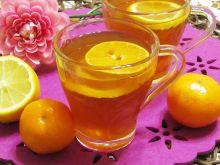 Rozgrzewająca herbatka miodowo- imbirowa