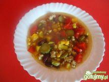 Rozgrzewająca zupa meksyskańska