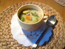 Rozgrzewająca zupa z brukselką