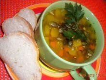 Rozgrzewająca zupa z dyni