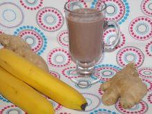Rozgrzewające bananowe kakao z imbirem