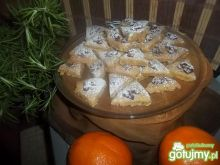 Rozmarynowe ciasteczka z orzechami