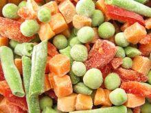 Rozmrażanie warzyw