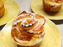 Różyczki z ciasta francuskiego