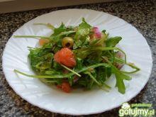 Rukola z oliwkami