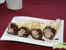 Rurki z kremem czekoladowym