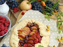 Rustykalna tarta z owocami jesieni