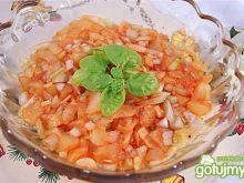 Ryba pod cebulowo-ananasową pierzynką