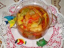 Ryba w cieście w pomidorowej zalewie