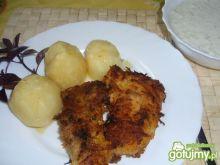 Ryba w panierce z marchewki