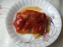 Ryba w pomidorach.