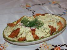 Ryba w sosie jajeczno-kaperkowym