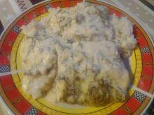 Ryba w sosie jogurtowo-koperkowym