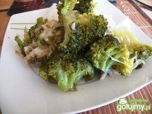 Ryba z brokułami