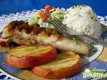Ryba z grilla marynowana w soku jabłkowy
