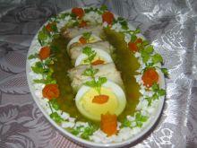 Ryba z jajkiem w galarecie
