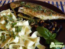 Ryba z orzechami