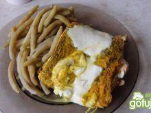 Ryba z serem mozzarela