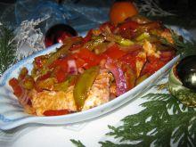 Ryba z warzywami