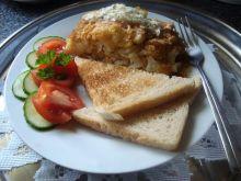 Ryba zapiekana z kalafiorem i serem