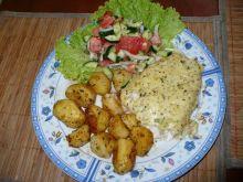Ryba zapiekana z serem i ziołami