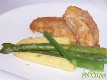 Rybka z warzywami