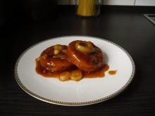 Rybne kotleciki w sosie keczupowym.