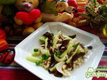 Ryż brązowy z pieczarkami i grzybami mun