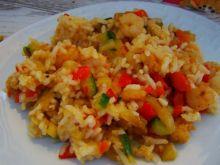 Ryż curry z krewetkami