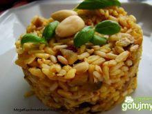 Ryż curry z żurawina i migdałami
