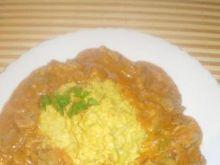 Ryż kleisty z curry i parmezanem