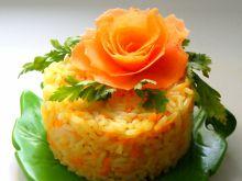 Ryż marchewkowy na bulionie