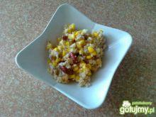 Ryż na pikantno z kukurydzą i mięsem